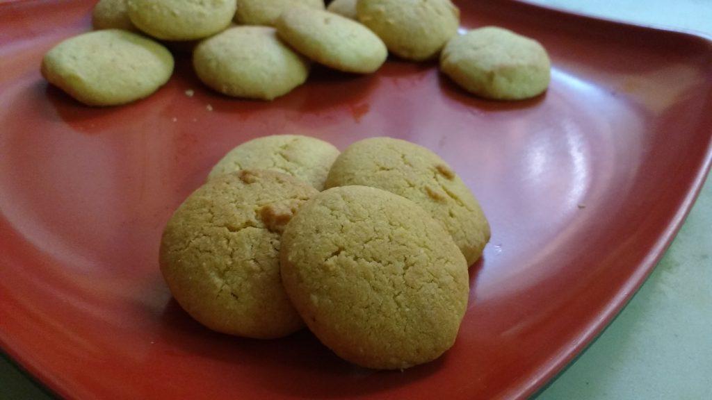 Besan Butter Cookies - Yummy!!!