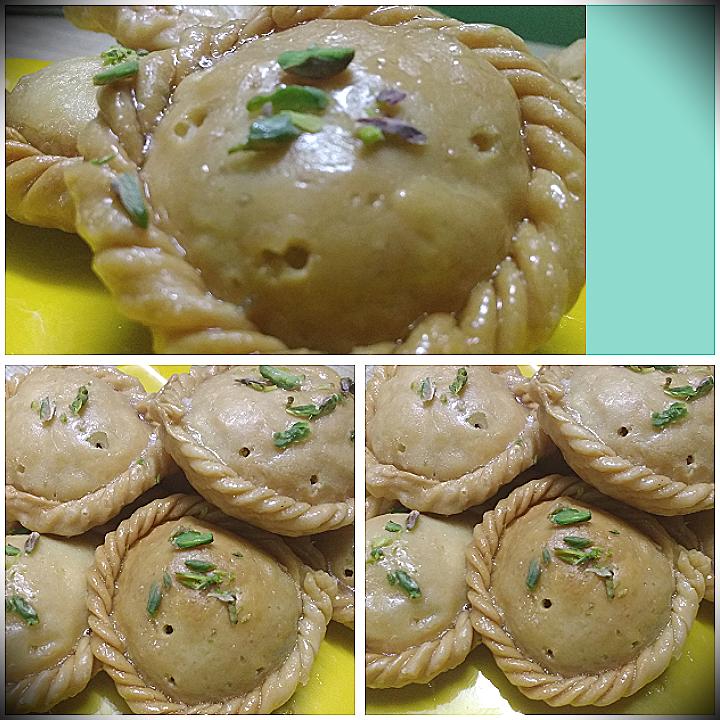 Chandrakala Sweet Recipe