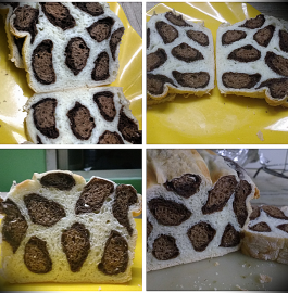 Leopard Print Milk Bread Recipe