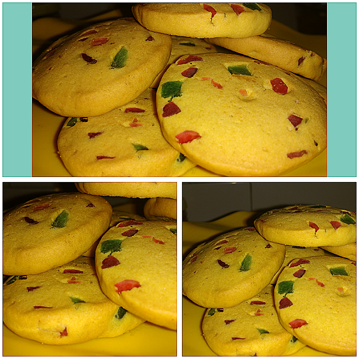 Tutti-Frutti Custard Cookies - Easy Recipe!