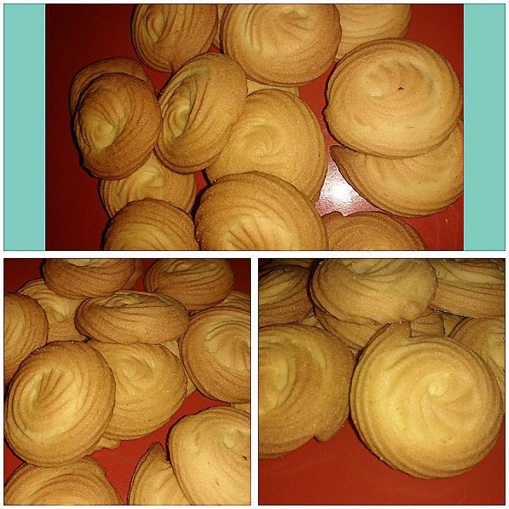 Vanilla Butter Cookies - Kids Favorite!!