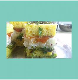 Sandwich Dhokla - Gujarati Cuisine!