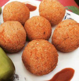 Leftover Rice Balls Recipe