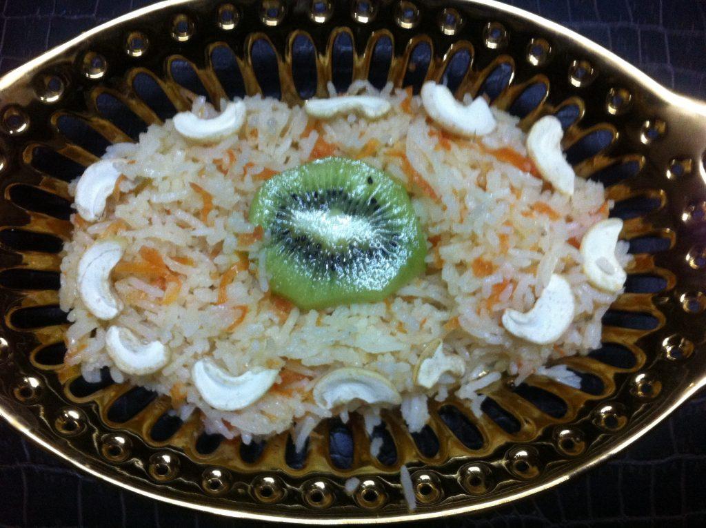 Sweet Rice With Carrot - Dessert Recipe!
