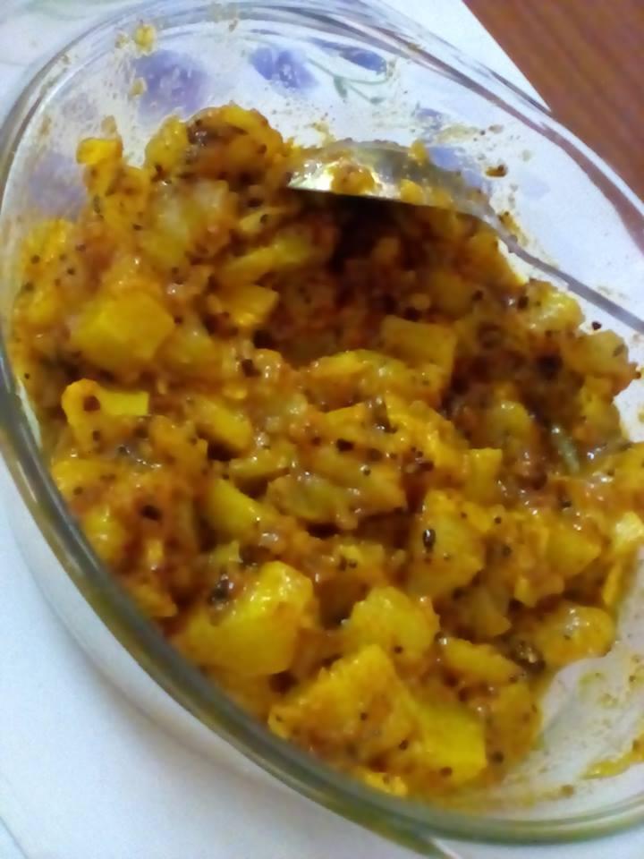 Mango Pickle - Instant recipe