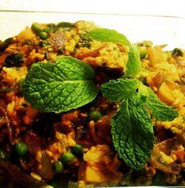 Hariyali Mixed Vegetable - Yummy Sabzi