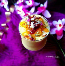 Mango Mastani - Chilled And Yummy Drink