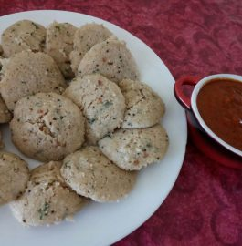 Masala Oats Idli With Tadka - Healthy Bite