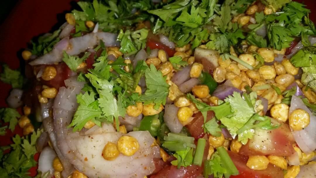 Chana Dal Bhel Spicy Snack Recipe