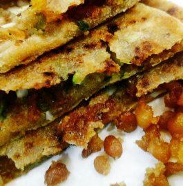 Leftover Laddu Paratha Recipe