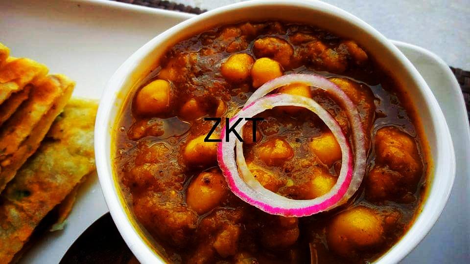 Matar Paneer Kulcha And Chole Recipe