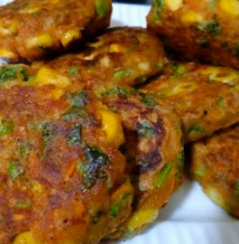 Sweet Corn And Leftover food Kabab Recipe