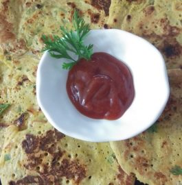 Veggie Besan Cheela - Super Tasty