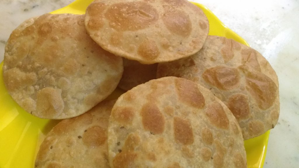 Ajwain ki Poori - Healthy And Tasty Bite