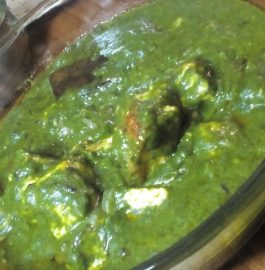 Palak Paneer - Delicious Sabzi (No Cream)