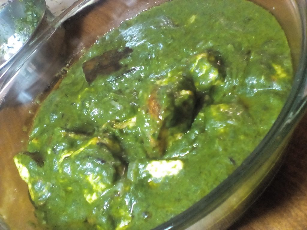 Palak Paneer - Delicious Sabzi (No Cream)