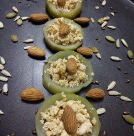 Caramelized Lauki Sandesh - Tasty Sweet