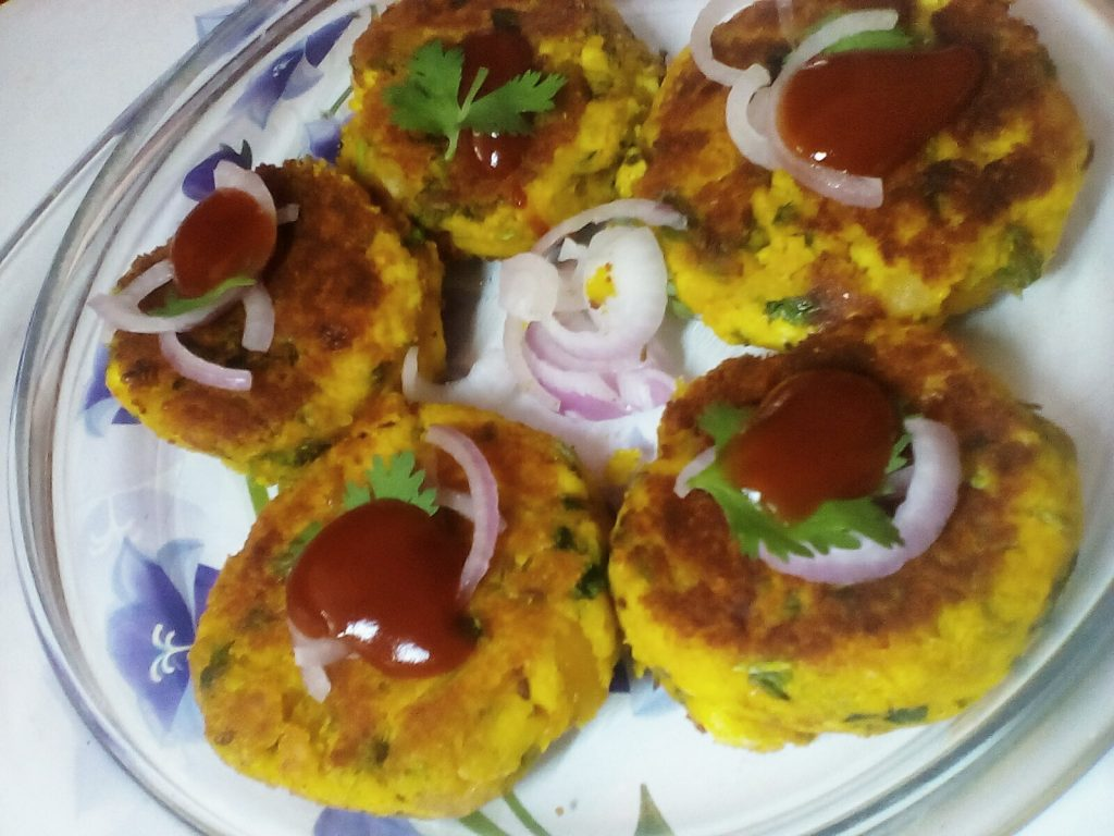 Chickpeas and Paneer Kebabs - Delicious