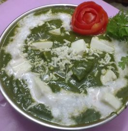 Palak Paneer - Healthy Curry