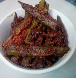 Bharwa Bhindi/ Stuffed Okra - Tasty Curry