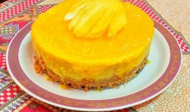Mango Cheese Cake - Delicious Bite