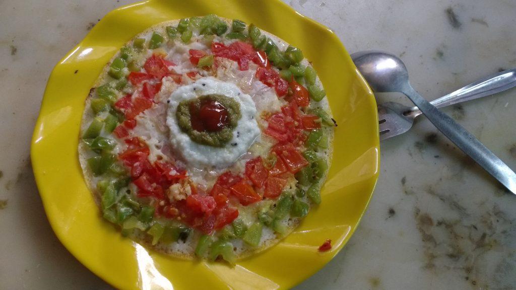 Veg Uttapam Breakfast Recipe