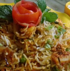 Hyderabadi Veg Biryani - Spicy Treat