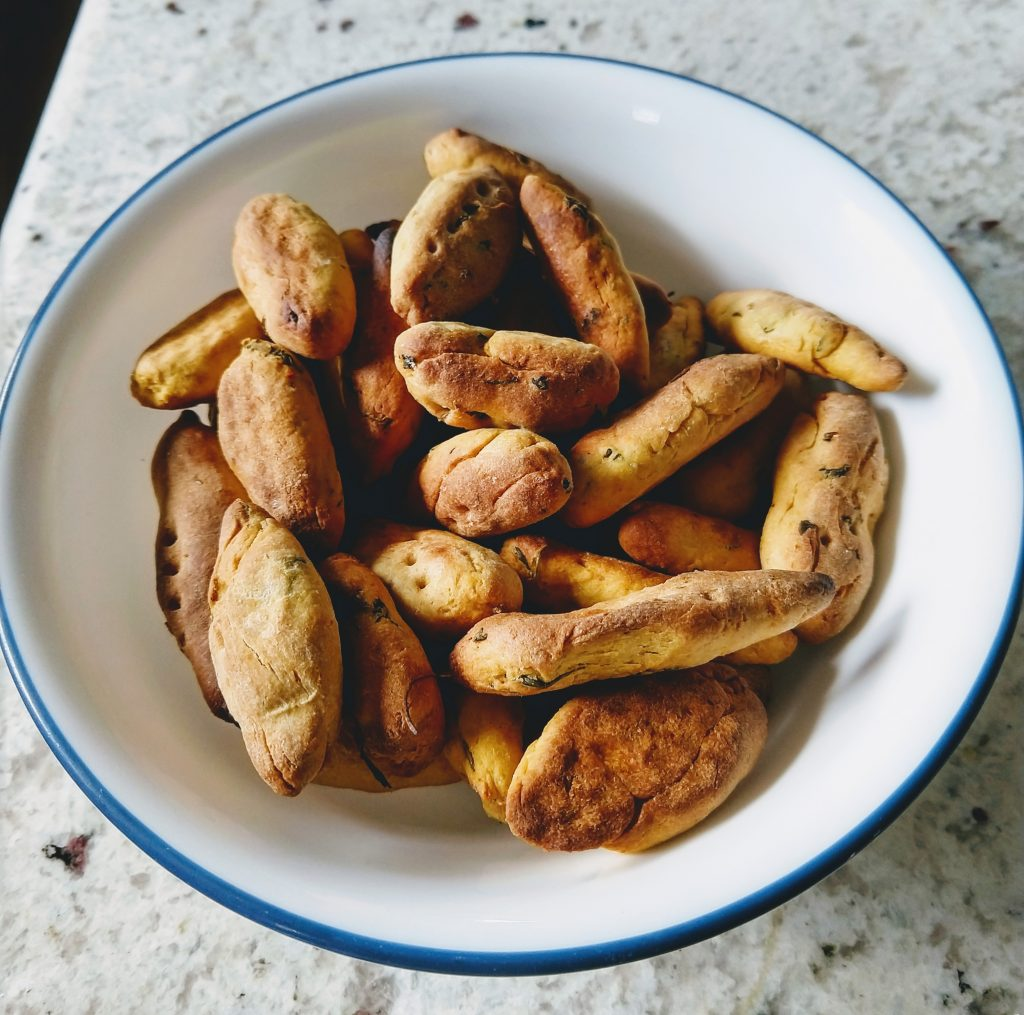 Baked Methi Muthiya - Oil Free Snacks Recipe