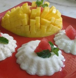 Baked Yogurt With Fruits Flavored - Yummy