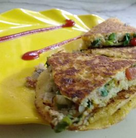 Stuffed Chickpeas Dosa – Tasty Breakfast