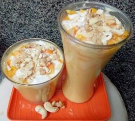 Mango Mastani - Delicious Milkshake
