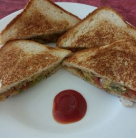 Tawa Sandwich - Yummy And Quick Breakfast