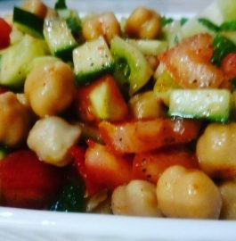 Chickpeas Salad - Healthy And Nutritious