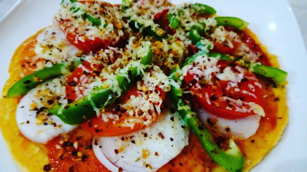 Besan Instant Pizza - Homemade Delight