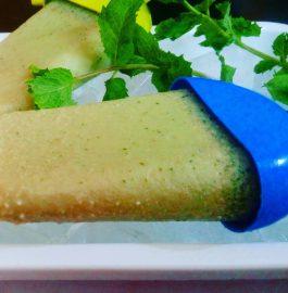 Mint Kulfi - Chilled Indian Dessert