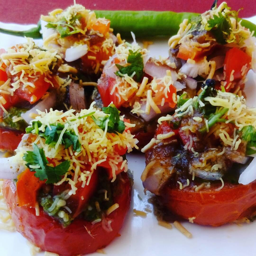 Indori Tamatar Chaat Recipe