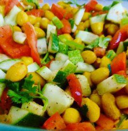 Masala Peanut Salad Recipe