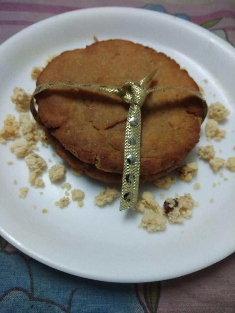 Mawa Stuffed Thekua - Sweet Snack in Bihar