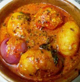 Aalu Pyaaz Tamatar Rasedaar - Instant Curry Recipe