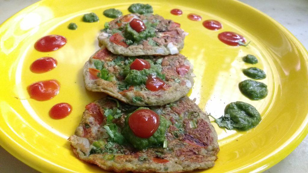 Sprouts Uttapam Recipe