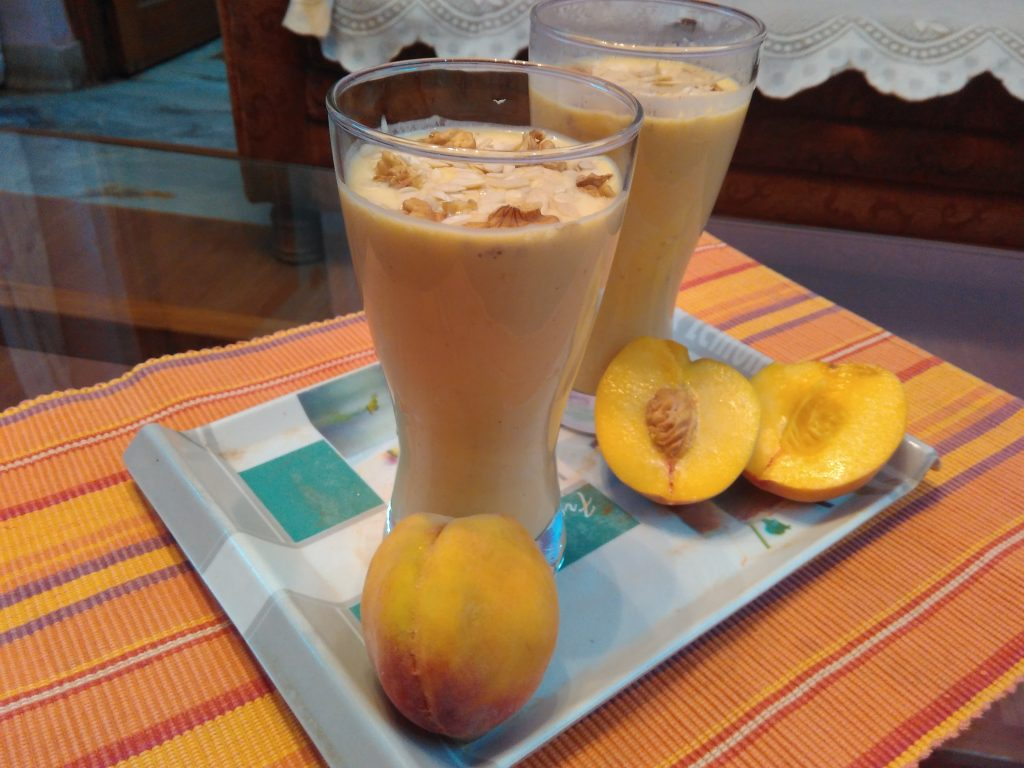 Peach Smoothie - A Power Pack of Health