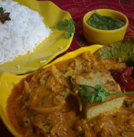 Pittod Do Pyaza Curry Recipe