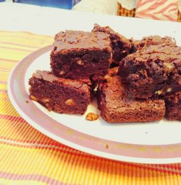 Eggless Fudge Brownie - Chocolate Delight