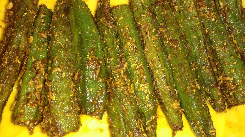 Bhindi Achari Masala Recipe