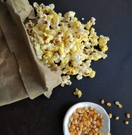 Butter Masala Popcorn Snack Recipe
