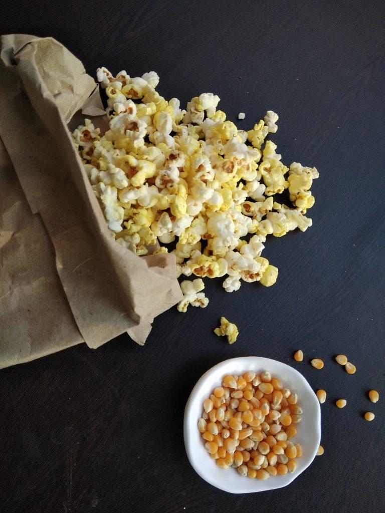 Butter Masala Popcorn Snack Recipe
