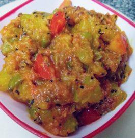 Yellow Pumpkin Ki Sabzi - Healthy Bite