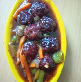 Beetroot Manchurian - Yummy Appetizer