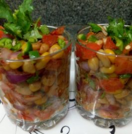 Sweet Corn Chaat - Healthy Yummy Bite