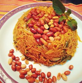 Vermicelli Vegetable Pulao Recipe